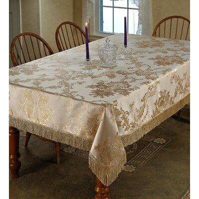 Majestic Damask Tablecloth by Violet Linen