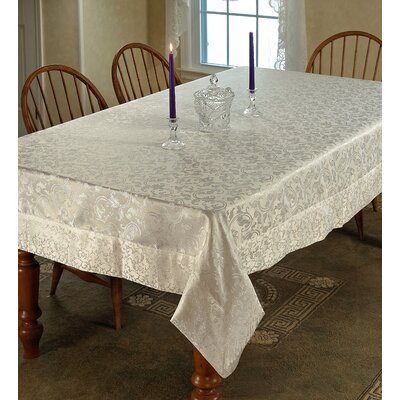 Princess Damask Vintage Tablecloth by Violet Linen