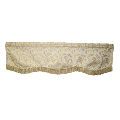 "Luxury Damask Design 60"" Curtain Valance Product Photo"