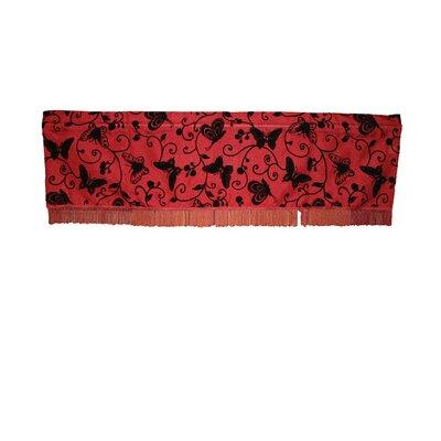 "Violet Linen Tivoli Butterfly 60"" Curtain Valance"