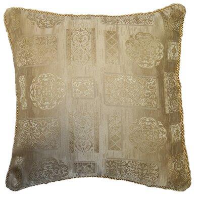 Premium Damask Vintage Decorative Throw Pillow by Violet Linen