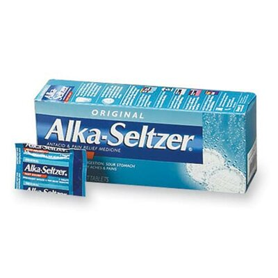 Alka-Seltzer® Alka-Seltzer Refills (36 Packs per Box)