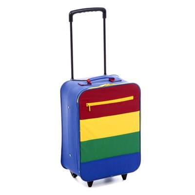 "Mercury Luggage Going to Grandma's 16"" Children's Stripe Roller"