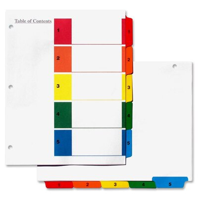 S J Paper Index Tab