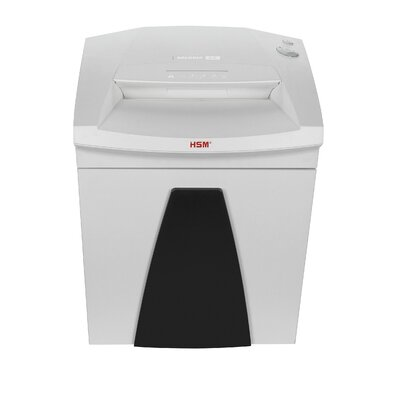 HSM of America,LLC HSM SECURIO B26c Cross-Cut Shredder, 19 Sheets, 14.5 Gallon Capacity