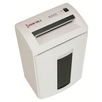 HSM of America,LLC HSM Classic 105.3 Strip-Cut Shredder, 22-24 Sheets, 8.7 Gallon Capacity