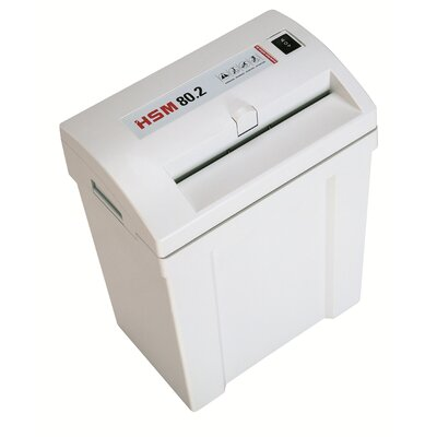 HSM of America,LLC HSM Classic 80.2 Strip-Cut Shredder, 10-12 Sheets, 4.5 Gallon Capacity