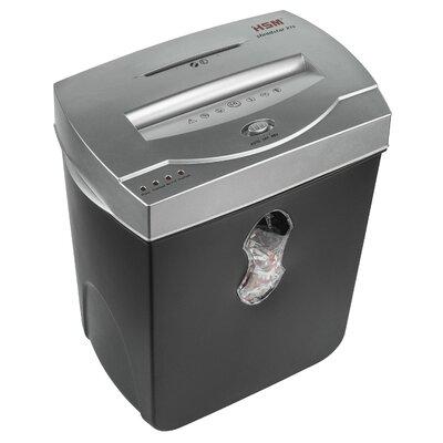 HSM of America,LLC HSM Shredstar X10 Cross-Cut Shredder, 10 Sheets, 5.5 Gallon Capacity