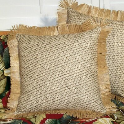 Retroweave Cotton Throw Pillow by Hanalei