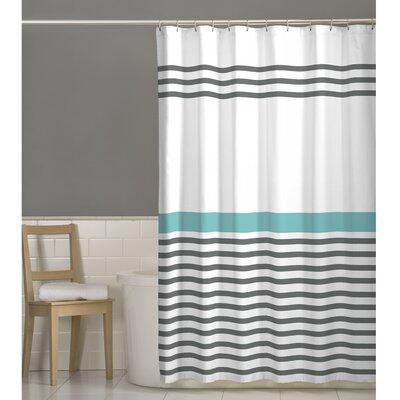 Simple Stripe Shower Curtain by Maytex