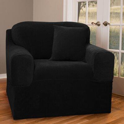 Maytex Collin Stretch One Piece Club Chair Slipcover