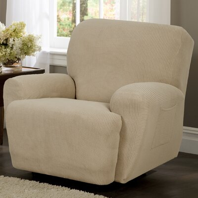 maytex reeves stretch four piece recliner t cushion