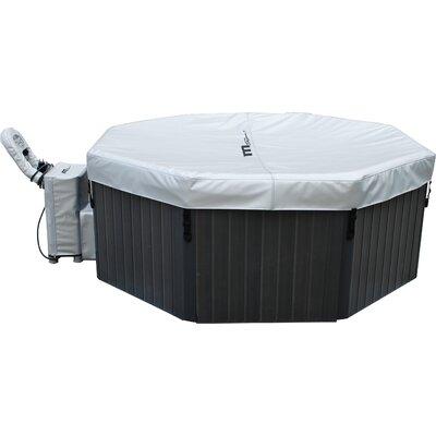 mspa 6 person 135 jet inflatable bubble spa reviews wayfair. Black Bedroom Furniture Sets. Home Design Ideas