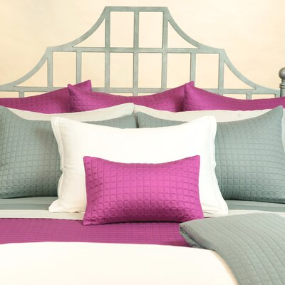 Bamboo Block Coverlet by Home Source International