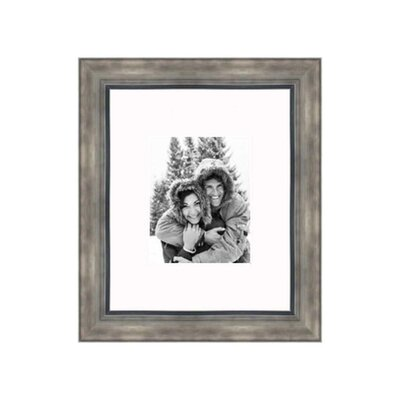 """Frames By Mail 16"""" x 20"""" Hammered Frame in Smokey Silver"""