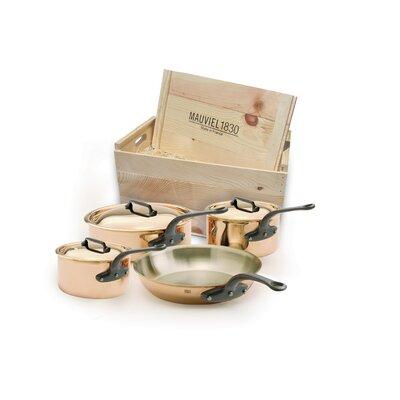 M'Heritage Copper 7-Piece Cookware Set by Mauviel