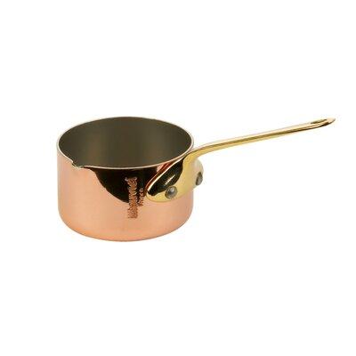 M'Heritage 0.06-qt. Mini Saucepan with Pouring Spout by Mauviel