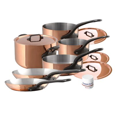 M'heritage M'150c 10 Piece Cookware Set by Mauviel