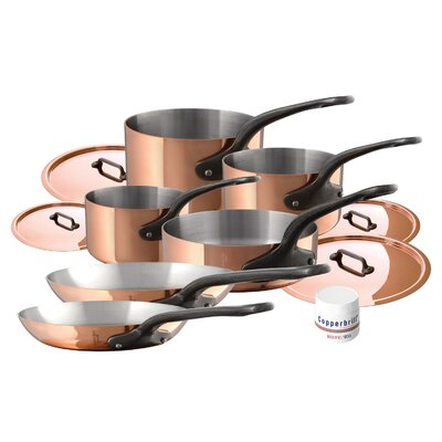 M'heritage 10 Piece Cookware Set by Mauviel