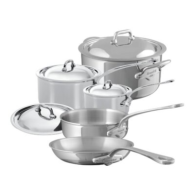 M'Cook 9 Piece Cookware Set by Mauviel