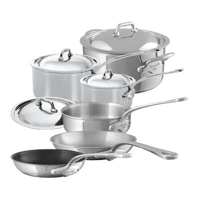 M'Cook 10 Piece Cookware Set by Mauviel