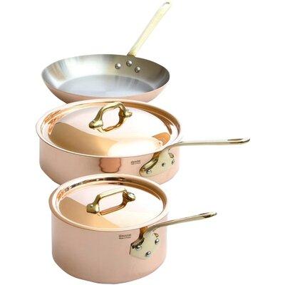 Mauviel M'Heritage Copper 5-Piece Cookware Set