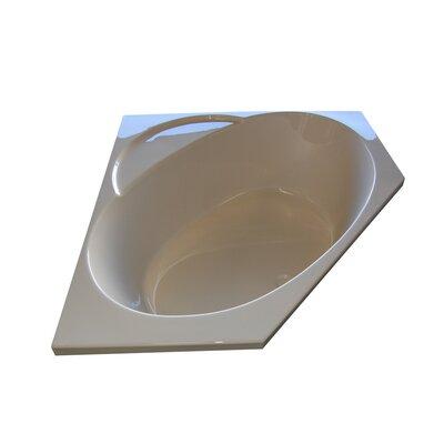 """48"""" x 48"""" Soaker Corner Bathtub Product Photo"""