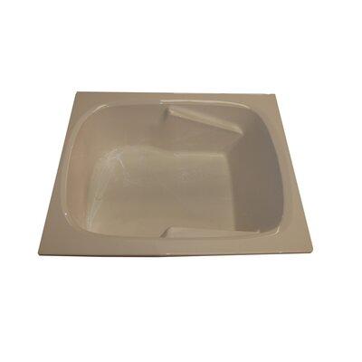 """American Acrylic 60"""" x 48"""" Arm-Rest Salon Spa Soaking Tub"""