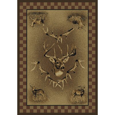 Marshfield Marshfield Whitetail Ridge Novelty Area Rug