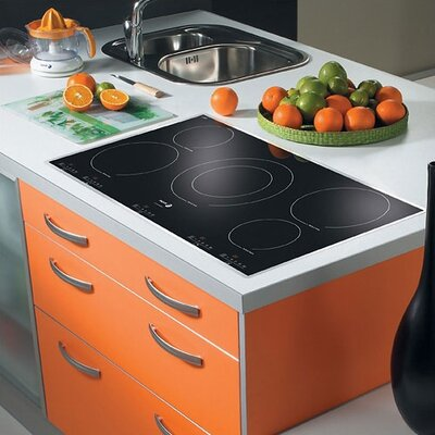 "36.94"" Electric Cooktop with 5 Burners Product Photo"