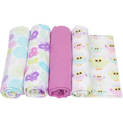 4 Piece Swaddle Blanket Set by Miracle Blanket