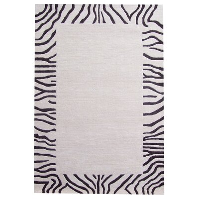 Ashley Ivory/Black Area Rug by Acura Rugs