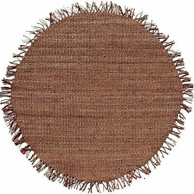 Acura Rugs Jute Natural Tan Area Rug