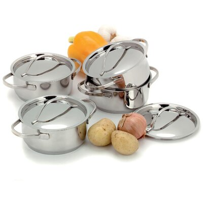 Demeyere Resto 4 Piece Mini Pot Set