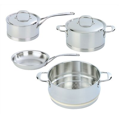 Atlantis 7-Ply Stainless Steel 6-Piece Cookware Set by Demeyere