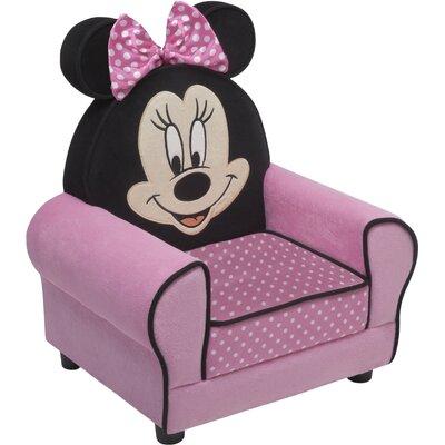 Minnie Mouse Figural Kids Chair by Delta Children