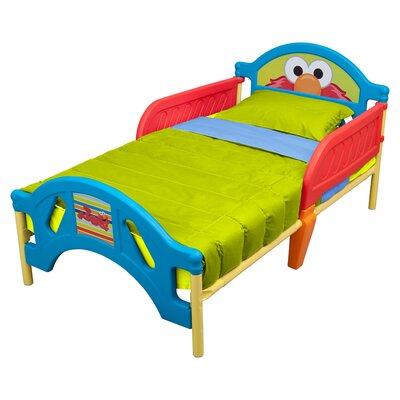 Sesame Street Plastic Toddler Bed by Delta Children