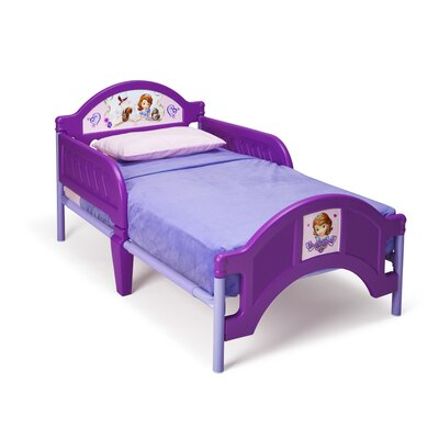 Disney Sofia the First Toddler Bed by Delta Children