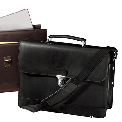 Metro Leather Laptop Briefcase by Andrew Philips
