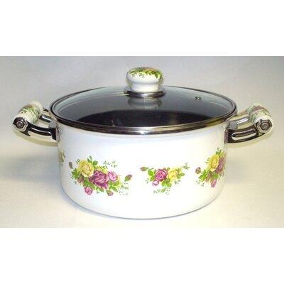 Danico Enamel Kitchenware Soup Pot with Lid