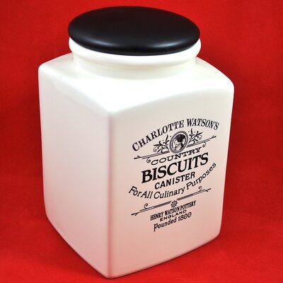 Henry Watson Charlotte Watson 80-Ounce Biscuit Canister