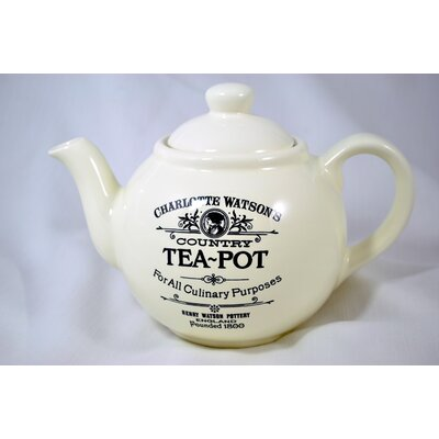 Four Cup Teapot in Cream by Henry Watson