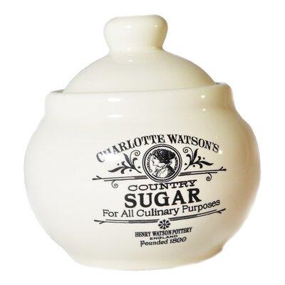 Henry Watson Charlotte Watson Sugar Bowl with Lid