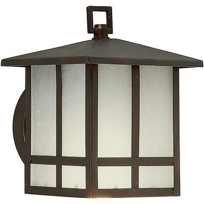 Forte Lighting 1 Light Wall Lantern