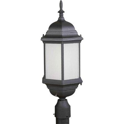 Forte Lighting Outdoor 1 Light Post Lantern