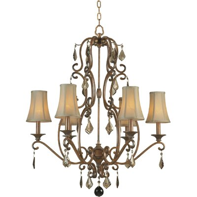 6 Light Chandelier Product Photo