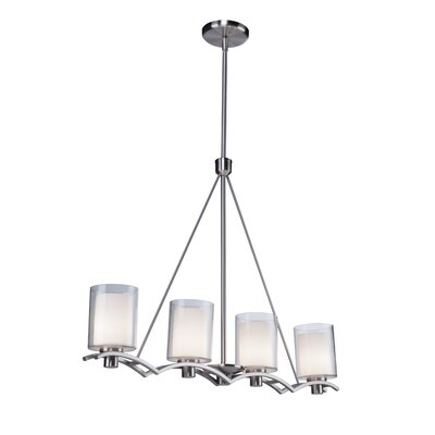 Andover 4 Light Kitchen Island Pendant Product Photo