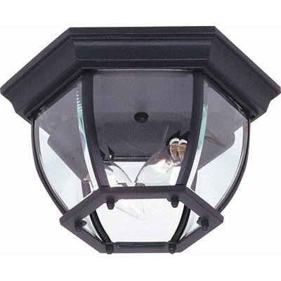 Classico 2 Light Flush Mount Product Photo