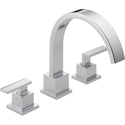 Vero Double Handle Deck Mount Roman Tub Faucet Trim Product Photo