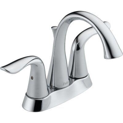 Lahara Two Handle Centerset Lavatory Faucet with Pop-Up Drain Product Photo